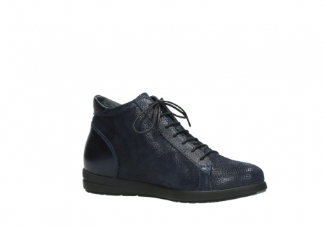 wolky ankle boots 02423 gravity 78800 blue combi leather_15