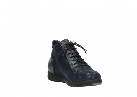 wolky ankle boots 02423 gravity 78800 blue combi leather_17