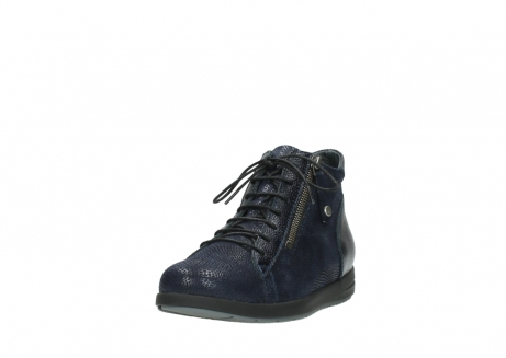 wolky ankle boots 02423 gravity 78800 blue combi leather_21