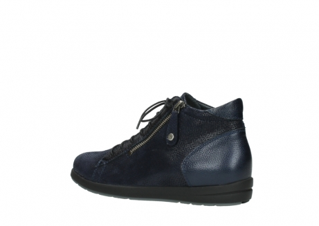 wolky ankle boots 02423 gravity 78800 blue combi leather_3