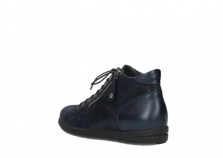 wolky ankle boots 02423 gravity 78800 blue combi leather_4