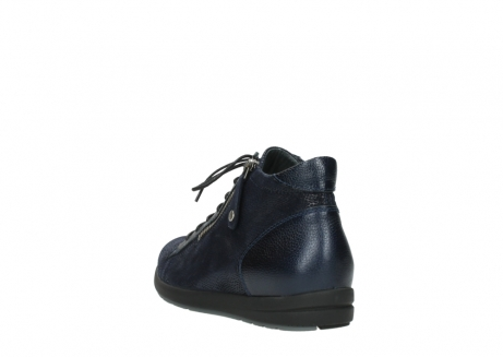 wolky ankle boots 02423 gravity 78800 blue combi leather_5