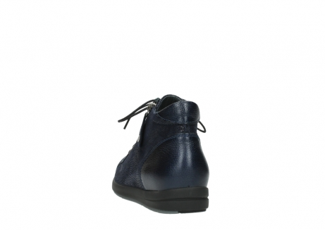 wolky ankle boots 02423 gravity 78800 blue combi leather_6