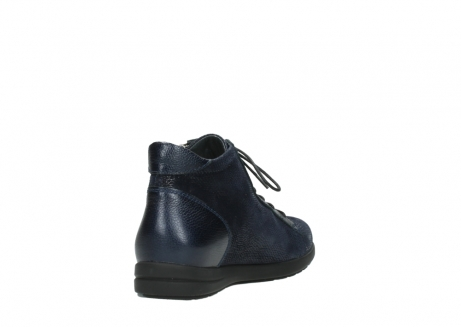 wolky ankle boots 02423 gravity 78800 blue combi leather_9