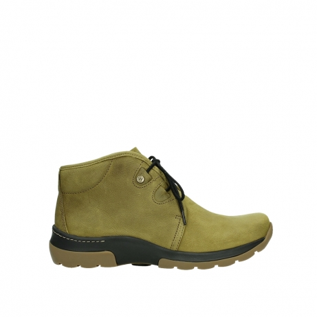 wolky ankle boots 03025 dub 11940 mustard nubuckleather