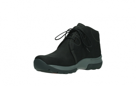 wolky ankle boots 03025 dub 11000 black nubuckleather_10