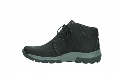 wolky ankle boots 03025 dub 11000 black nubuckleather_13