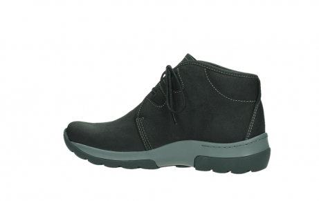 wolky ankle boots 03025 dub 11000 black nubuckleather_14