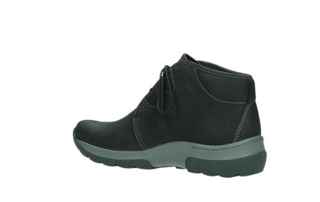 wolky ankle boots 03025 dub 11000 black nubuckleather_15