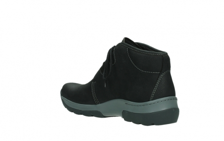 wolky ankle boots 03025 dub 11000 black nubuckleather_16