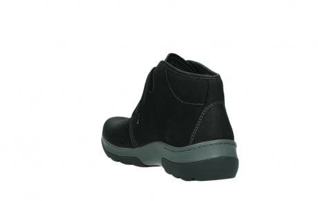wolky ankle boots 03025 dub 11000 black nubuckleather_17