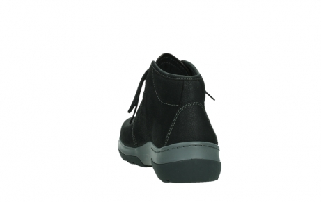 wolky ankle boots 03025 dub 11000 black nubuckleather_18