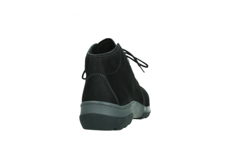 wolky ankle boots 03025 dub 11000 black nubuckleather_20