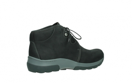 wolky ankle boots 03025 dub 11000 black nubuckleather_23