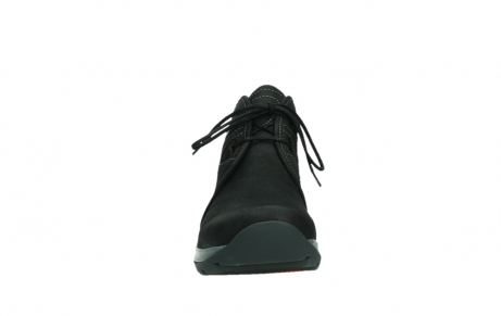 wolky ankle boots 03025 dub 11000 black nubuckleather_7