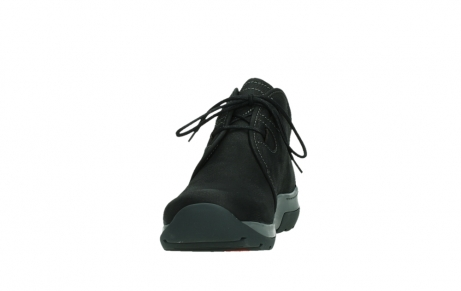 wolky ankle boots 03025 dub 11000 black nubuckleather_8