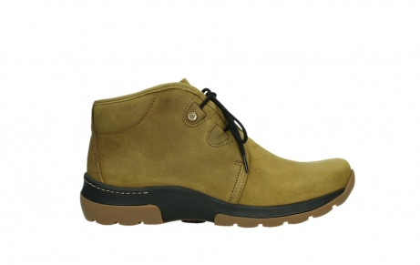 wolky ankle boots 03025 dub 11940 mustard nubuckleather_1