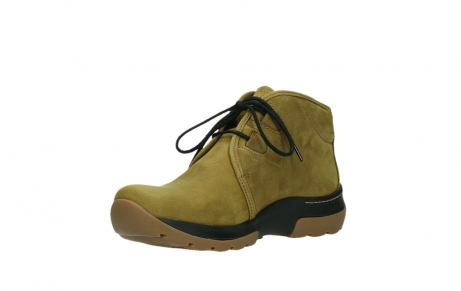 wolky ankle boots 03025 dub 11940 mustard nubuckleather_10