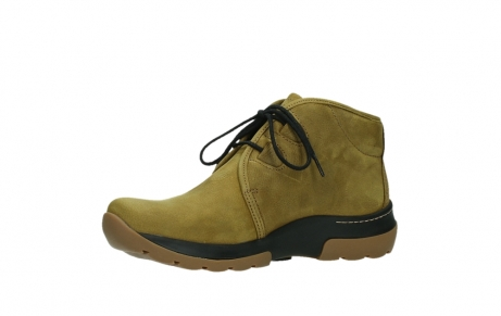 wolky ankle boots 03025 dub 11940 mustard nubuckleather_11
