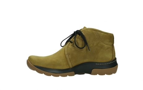 wolky ankle boots 03025 dub 11940 mustard nubuckleather_12
