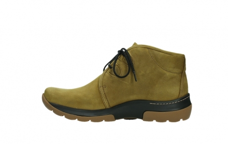 wolky ankle boots 03025 dub 11940 mustard nubuckleather_13
