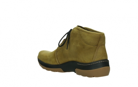 wolky ankle boots 03025 dub 11940 mustard nubuckleather_16