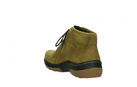 wolky ankle boots 03025 dub 11940 mustard nubuckleather_17