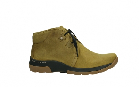wolky ankle boots 03025 dub 11940 mustard nubuckleather_2