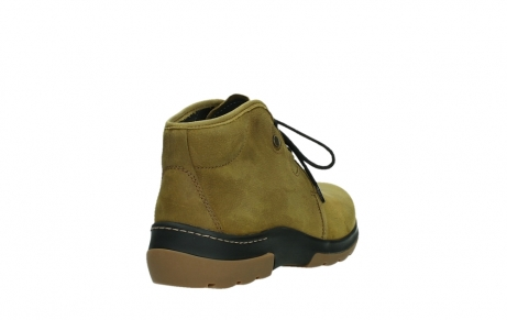 wolky ankle boots 03025 dub 11940 mustard nubuckleather_21