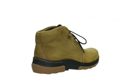 wolky ankle boots 03025 dub 11940 mustard nubuckleather_22