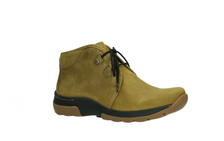 wolky ankle boots 03025 dub 11940 mustard nubuckleather_3