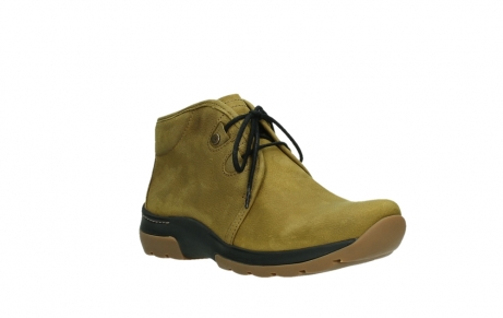 wolky ankle boots 03025 dub 11940 mustard nubuckleather_4