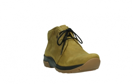 wolky ankle boots 03025 dub 11940 mustard nubuckleather_5