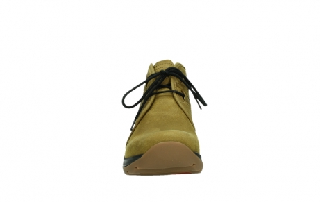 wolky ankle boots 03025 dub 11940 mustard nubuckleather_7