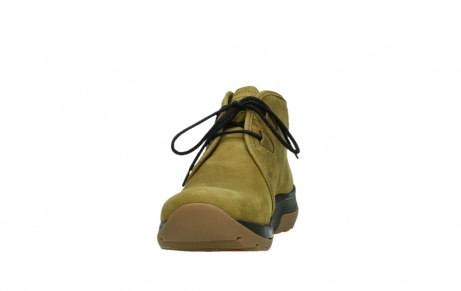 wolky ankle boots 03025 dub 11940 mustard nubuckleather_8