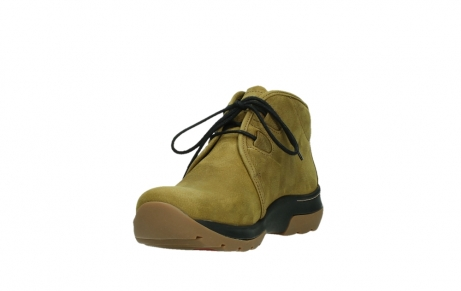 wolky ankle boots 03025 dub 11940 mustard nubuckleather_9