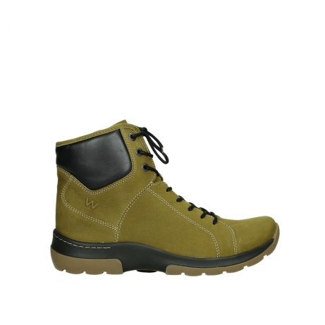 wolky ankle boots 03026 ambient 11940 mustard nubuckleather