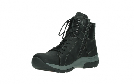 wolky ankle boots 03026 ambient 11000 black nubuck_10