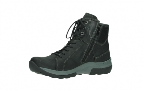 wolky ankle boots 03026 ambient 11000 black nubuck_11