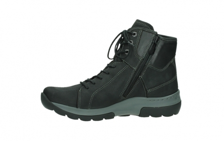 wolky ankle boots 03026 ambient 11000 black nubuck_12