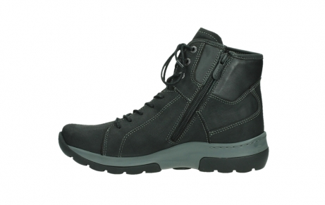wolky ankle boots 03026 ambient 11000 black nubuck_13