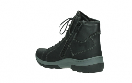 wolky ankle boots 03026 ambient 11000 black nubuck_16