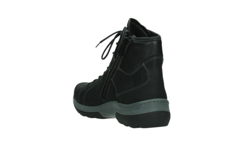 wolky ankle boots 03026 ambient 11000 black nubuck_17