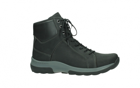 wolky ankle boots 03026 ambient 11000 black nubuck_2