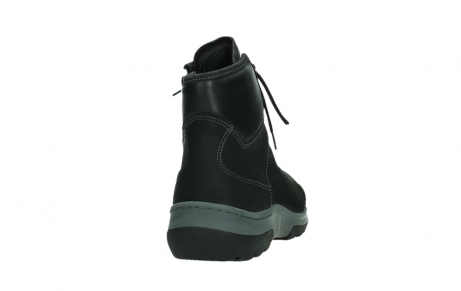 wolky ankle boots 03026 ambient 11000 black nubuck_20