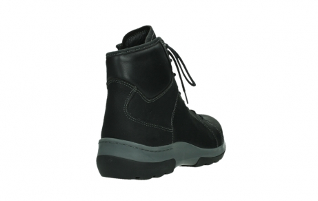 wolky ankle boots 03026 ambient 11000 black nubuck_21