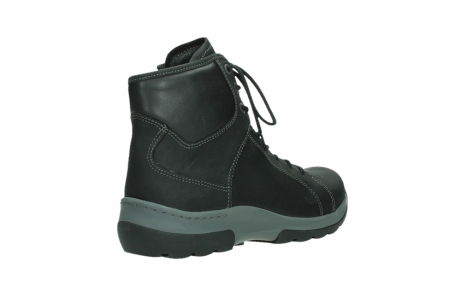 wolky ankle boots 03026 ambient 11000 black nubuck_22