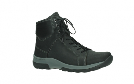 wolky ankle boots 03026 ambient 11000 black nubuck_3