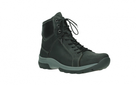 wolky ankle boots 03026 ambient 11000 black nubuck_4