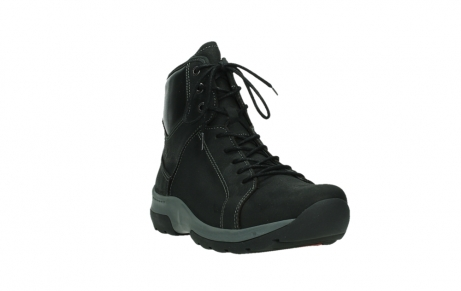 wolky ankle boots 03026 ambient 11000 black nubuck_5